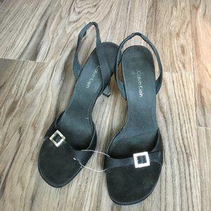 Calvin Klein Single Back Buckle Dress Sandals